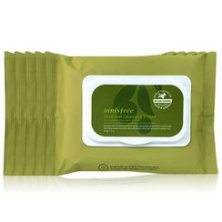 Innisfree - Olive Real Cleansing Tissue (30pcs x 5Packs)