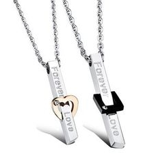 Tenri - Lettering Metal Necklace