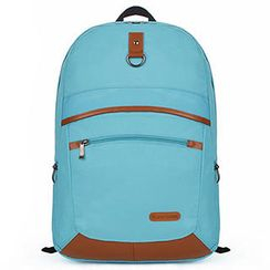 Mr.ace Homme - Padded Strap Nylon Backpack