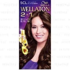 Wella - Wellation 2 + 1 Cream Hair Color (#5B)