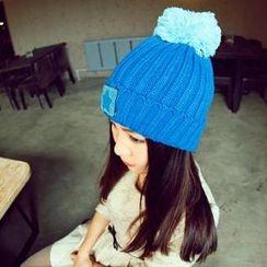 羅煞秀 - 球球裝飾針織帽