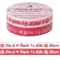 Aimez le style - Aimez le style Masking Tape Double Pink It!
