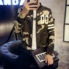 ZONZO - Camouflage Zip Jacket