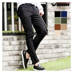 DANGOON - Drawstring-Waist Straight-Cut Pants