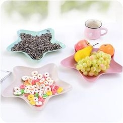 Eggshell Houseware - Star Fruit Plate