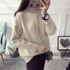 Qimi - 高领毛衣