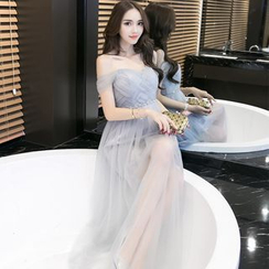 KAKAGA - Tulle Bridesmaid Dress