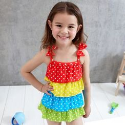 Charmaine - Kids Tiered Swimsuit