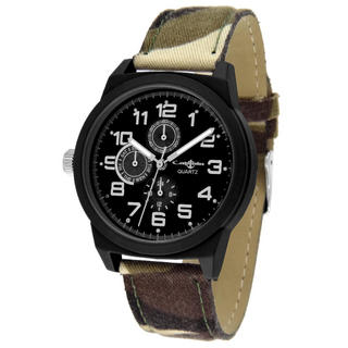 Collezio - Camo. fabric Strap Watch