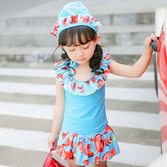 Goldlyre - Kids Print Swimsuit