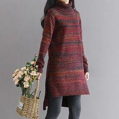 Salisha - Turtleneck Long Sweater