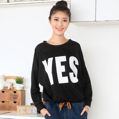 59 Seconds - 'YES' Print T-Shirt