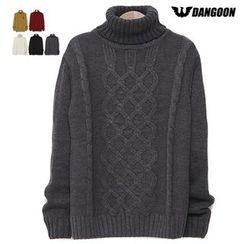DANGOON - Turtle-Neck Knit Top
