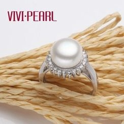 微微珍珠 - 淡水珍珠可調節戒指