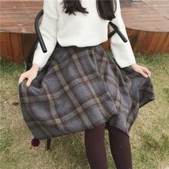 Eva Fashion - 不对称针织连衣裙