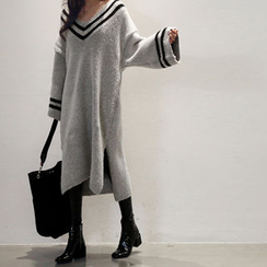 NANING9 - Oversized Sweater Dress