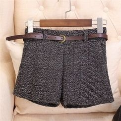 Clementine - Tweed Shorts