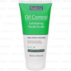 Beauty Formulas - Oil Control Exfoliating Facial Scrub (Tea Tree)