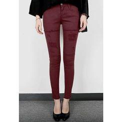 REDOPIN - Distressed Skinny Pants