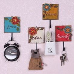 Retro Times - Floral Wall Hook