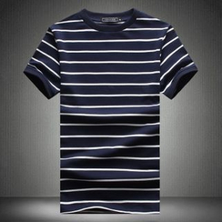 Alvicio - Stripe Short-Sleeve T-Shirt