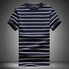 Alvicio - 短袖條紋T恤
