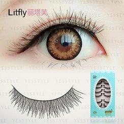 Litfly - Eyelash #302 (10 pairs)