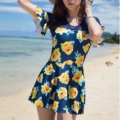 Sirene - Floral Swimsuit