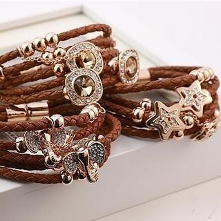 Love Generation - Star Layered Braided Bracelet