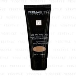Dermablend - Leg and Body Cover Broad Spectrum SPF 15 (High Color Coverage and Long Lasting Color Wear) - Medium