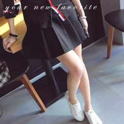 REDOPIN - Pleated Miniskirt