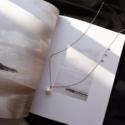 Calypso - 仿珍珠吊坠项链
