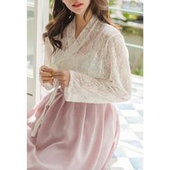 Dalkong - Lace Hanbok Top