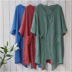 Rosadame - Open-Front Cardigan