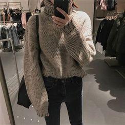 Cotton Candy - 樽領毛衣