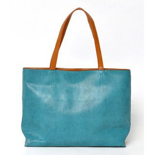 YesStyle Bags - Faux Leather Tote