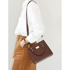 FROMBEGINNING - Square Crossbody Bag