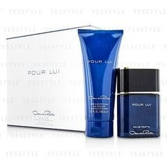 Oscar De La Renta - Pour Lui Coffret: Eau De Toilette Spray 90ml/3oz + Hair and Body Wash 200ml/6.7oz