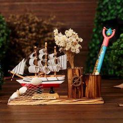 INTI - 帆船筆筒