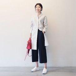Arroba - Striped Shirtdress