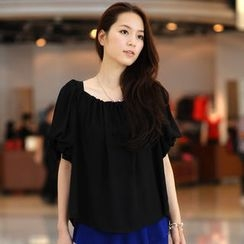 59th Street - Puff-Sleeve Top