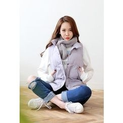 Dalkong - Button Padded Vest