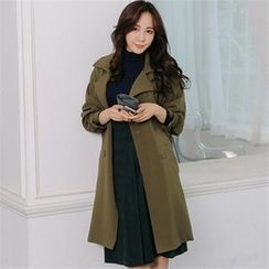 ANNINA - Double-Breasted Trench Coat