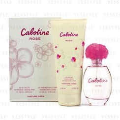 Gres - Cabotine Rose Coffret: Eau De Toilette Spray 100ml/3.4oz + Perfumed Body Lotion 200ml/6.76oz
