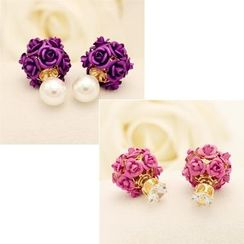 Best Jewellery - Floral Through & Through Earrings
