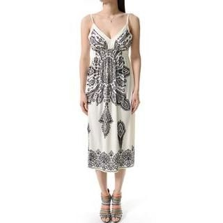 TheLeesW - Patterned Maxi Dress