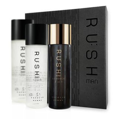 esfolio - Rushman Skin Care Set: Toner 130ml x 2pcs + Essence 130ml
