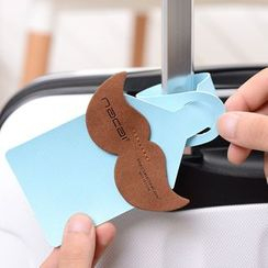 OH.LEELY - Mustache Luggage Tag