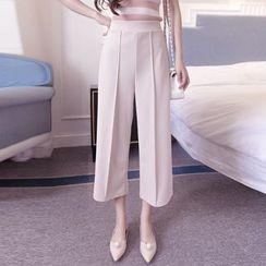 ENZA - Wide Leg Cropped Pants