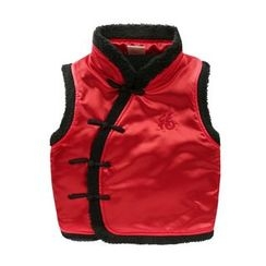lalalove - Kids Fleece-lined Vest